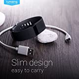 Lumsing Fitbit charge HR USB Nylon charging Cable 1