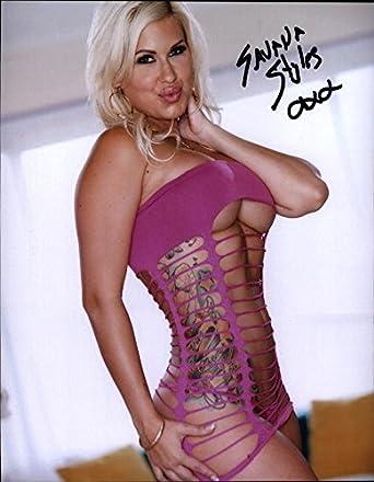 Sexy Savana Styles Signed Model 8x10 Photo Proof Certificate I0004