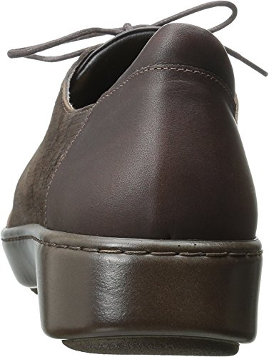 Mine Brown Leather Carob French Flat Naot Leather Leather Women's Brown Roast Riviera Leather Buffalo YgvOzORn