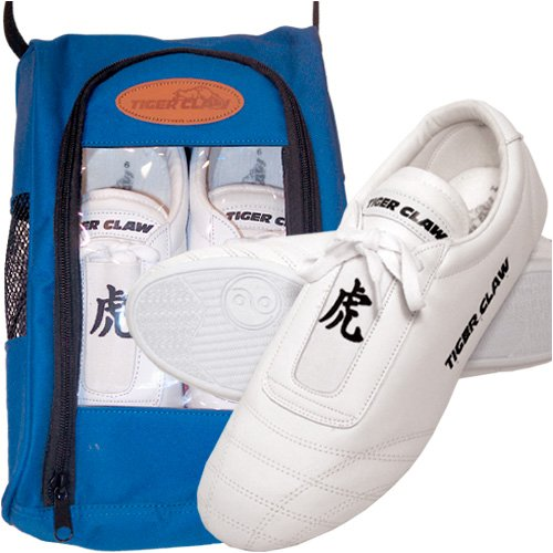 White Martial Art Shoes Size 1