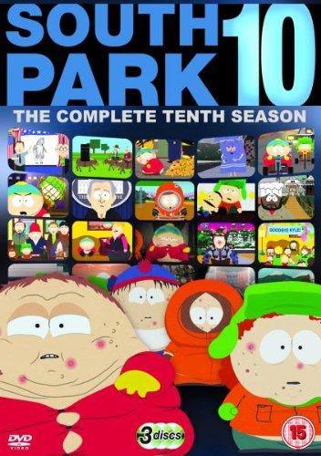 DVD : South Park: The Complete Tenth Season (Full Frame, Dolby, Digipack Packaging, Slipsleeve Packaging, 3 Disc)