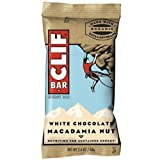 Clif White Chocolate Macadamia Snack Bar, 2.4 Ounce -- 192 per case.
