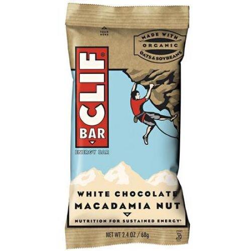 Clif White Chocolate Macadamia Snack Bar, 2.4 Ounce -- 192 per case. by Clif Bar