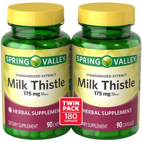 Spring Valley - Milk Thistle 175 mg, 180 Capsules
