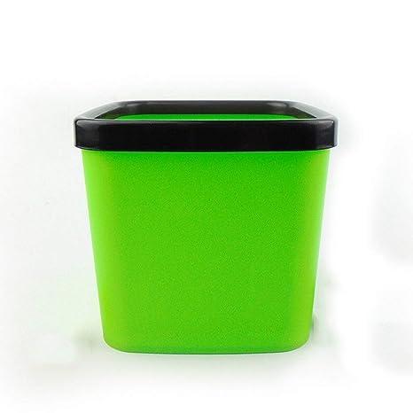 ZBM Cubo De Basura, Coche Plastico Sin Tapa La Trompeta ...