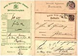 EXTREMELY RARE GERMAN POSTAL HISTORY LOT