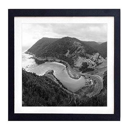 Amazon Com Framed Wall Art Australia Coast Road Mountains Ocean