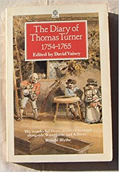 Book The Diary of Thomas Turner 1754-1765 (Oxfords)