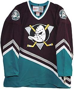 ddc250676 Amazon.com   Vintage Mighty Ducks of Anaheim 1997-2003 Purple Hockey ...