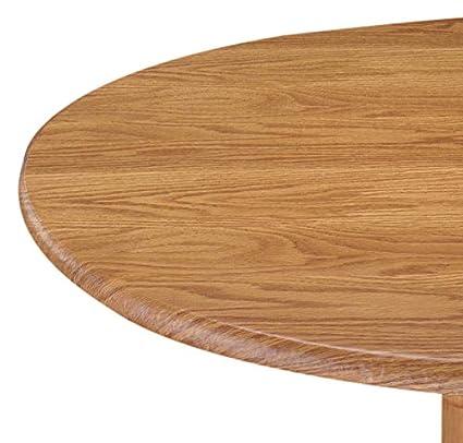 amazon com laminet woodgrain elastic round table cover small pine