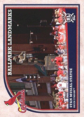2018 Topps Big League Baseball #362 Stan Musial Statue St. Louis Cardinals