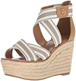 Tommy Hilfiger Womens Theia Espadrille Wedge Sandal