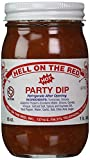 Hell On The Red, Authentic Texas Hot Party Dip, 16 Ounces (Pack of 2)