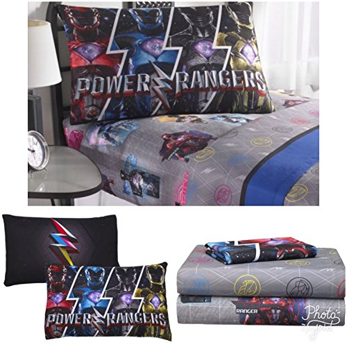 power rangers bed sheets - 3