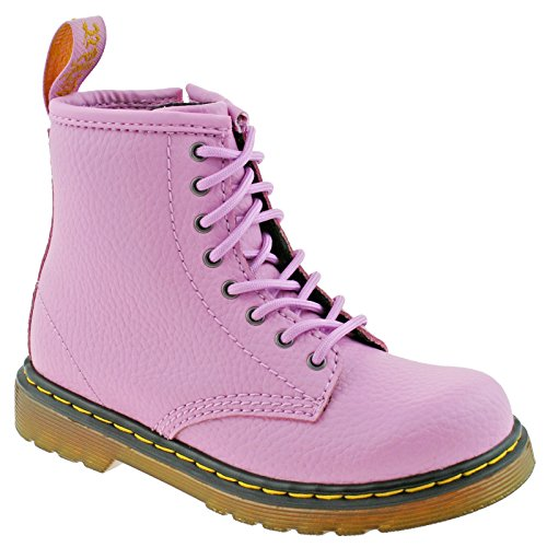 Boots 6 Side Pink EU Zip UK Soft Girls Mallow Dr Leather Delaney Junior Y PBl 39 Martens x607wg