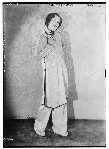 Photo: Gertrude Olmstead,1897-1975,American actress of the taciturn era,Bain News Service
