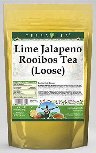 Lime Jalapeno Rooibos Tea (Loose) (8 oz, ZIN: 545867) - 2 Pack