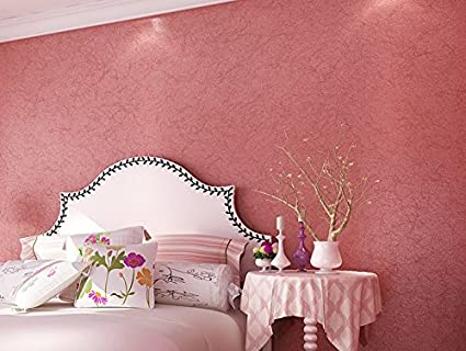 Top Quality Pure Color Silk Wallpaper Non-woven Wall Paper for ...