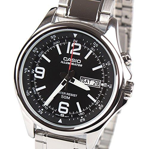 Amazon.com: mtp-e201d-1bvdf Casio Reloj de pulsera: Watches