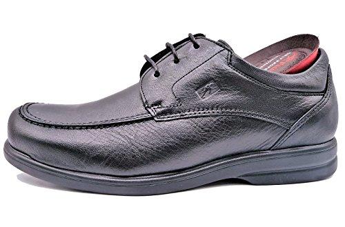 Fluchos Profesional 6276 - Zapato de cordones con plantilla extraible negro