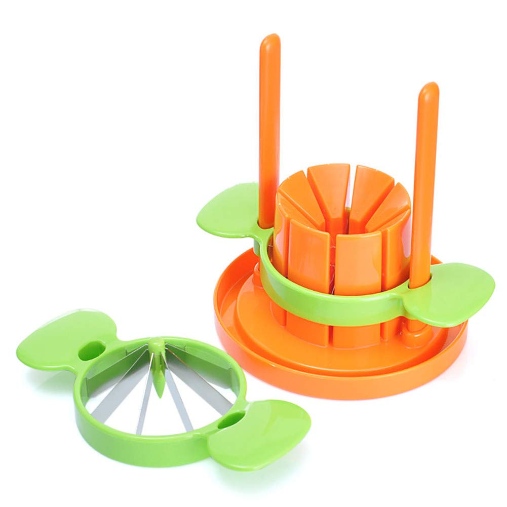WLIXZ Cut Fruit Three-Piece for Kitchen, Multi-Function Vegetables Cutter, Fruits Cutter by WLIXZ