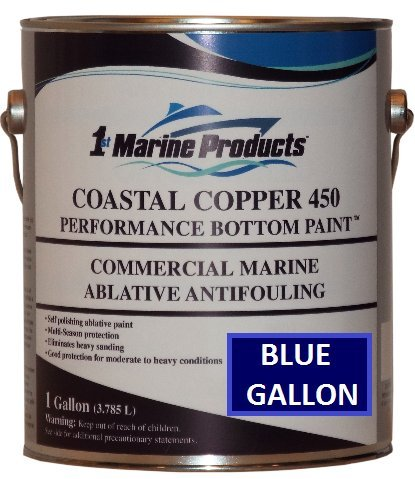 BLUE GALLON Coastal Copper 450 Ablative Antifouling Bottom Paint BLUE GALLON
