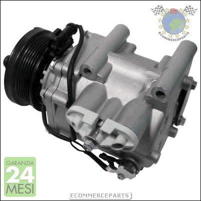CJ Compresor Aire Acondicionado SIDAT Ford Mondeo III 3 Volu: Amazon.es: Coche y moto