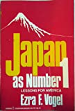 Japan As Number One : Lessons for America, Vogel and Vogel, Ezra F., 0060907916
