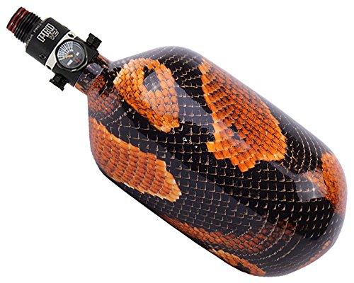 Ninja Paintball SL Carbon Fiber 77ci/4500psi Air Tank w/ Pro V2 Regulator - (Medtech Air)
