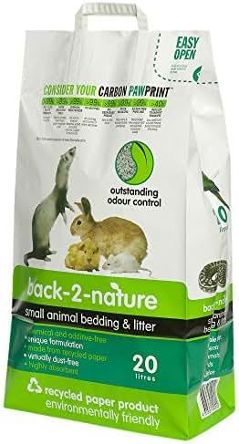 Fibrecycle USA Inc. Back-2-Nature Small Animal Bedding 20 Liter