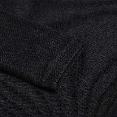 A Camicie Abcone Casual shirt Felpa Autunno Pullover Solida Liquidazione V Di Lunghe Nero Camicetta Vendita Tops Blusa Camicette T donna Donne Elegante Maniche Scollo Con Allentata ParqwBPg