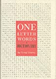 One-Letter Words, Craig Conley, 0060798734