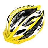 Wolfbike Unicase Bicycle Cycling PVC Helmet BMX MTB Off Road Safety Helmet Superlight (Yellow) Review