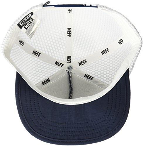 ceb2ba6e194 NEFF Men s X Mesh Hat-Flat Billed Snapback Trucker Cap