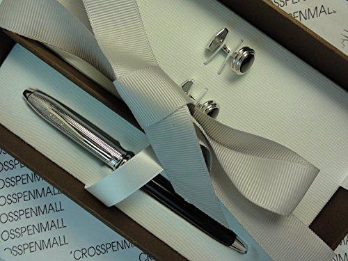 Cross Elegant Corporate Executive Gift Combo , Townsend Tuxedo Pen and Cross Tuxedo Cufflinks Set in Boutique Quality Gift Box - Cufflink Cross