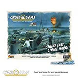 Cruel Seas Strike Fast, Strike Hard! Cruel Seas Starter Set 1:300 WWII Naval Military Wargaming Plastic Model Kit