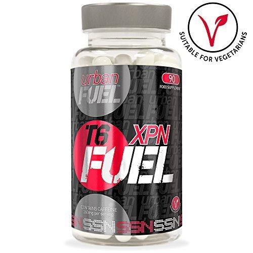 Urban Fuel XPN T6 Fat Burners - Strong Diet Pills - XPN Fuel T6 Fat Burner. Genuine Vegetarian Safe Diet Pills, Weight Loss Tablets & Fat Burners For Men by Urban Fuel by Urban Fuel