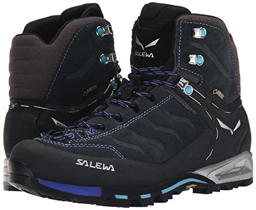 Pictures of Salewa Women's WS MTN Trainer Mid Carbon/River Blue 4