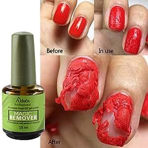 Qianren Gel removedor de esmalte de uñas profesional ...