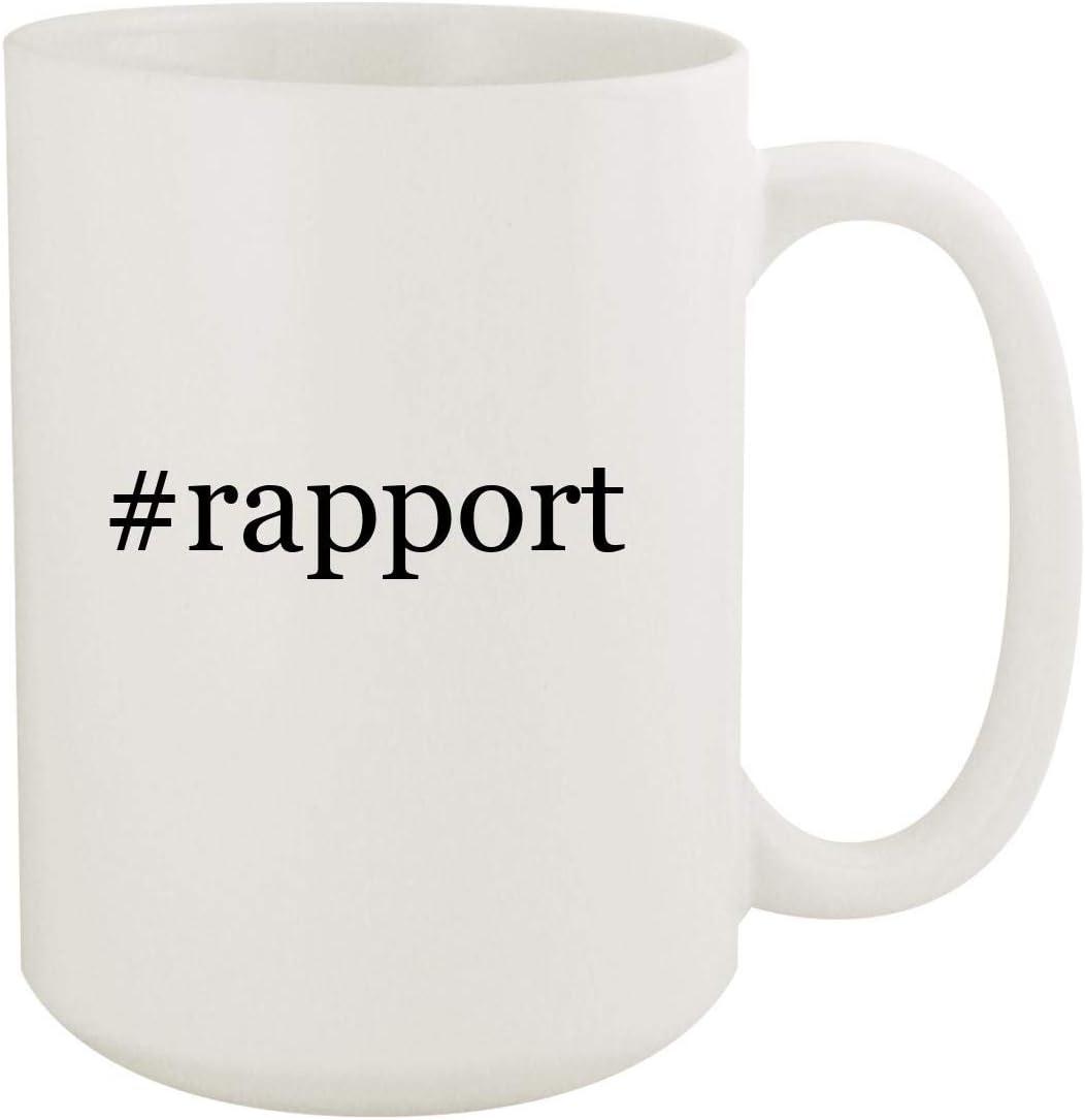 #rapport - 15oz Hashtag White Ceramic Coffee Mug