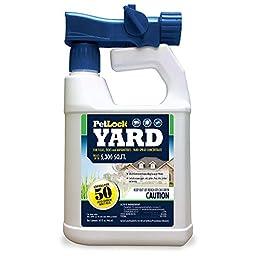 PetLock Yard Spray Concentrate for Fleas, Ticks and Mosquitos, 32 fl. oz.
