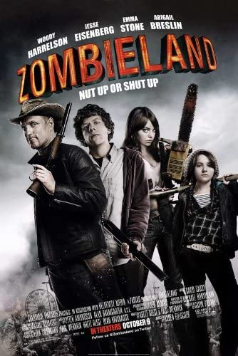 Amazon.com: Zombieland Movie POSTER B 27x40: Prints: Posters & Prints