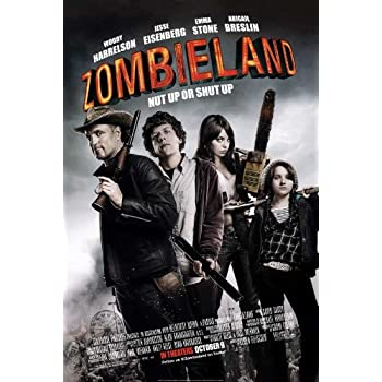 Amazon Com Zombieland Poster Movie B 11x17 Amber Heard