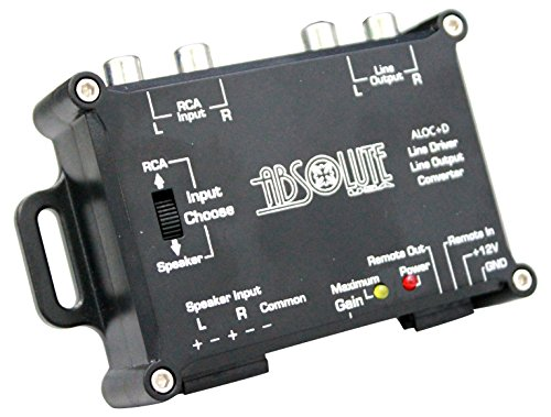 Output Line Driver - Absolute USA ALOC+D 2 Channel Line Output Converter with Line Driver