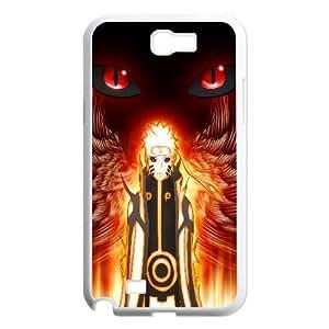 Naruto Uzumaki Anime Samsung Galaxy N2 7100 Cell Phone Case White TPU Phone Case SV_206730