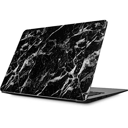 Skinit Marble MacBook Air 13.3 (2010-2016) Skin - Crushed Black Design - Ultra Thin, Lightweight Vinyl Decal (Black Macbook Weight)
