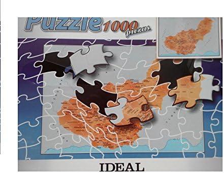 Puzzle 1000 Piezas. Provincia de Granada y Sus pueblos. Ref Granada: Amazon.es: Juguetes y juegos
