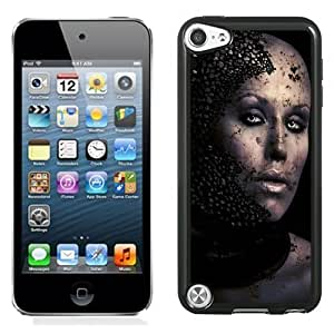 New Personalized Custom Designed For iPod Touch 5th Phone Case For Creative Broken Woman Head Phone Case Cover Kimberly Kurzendoerfer