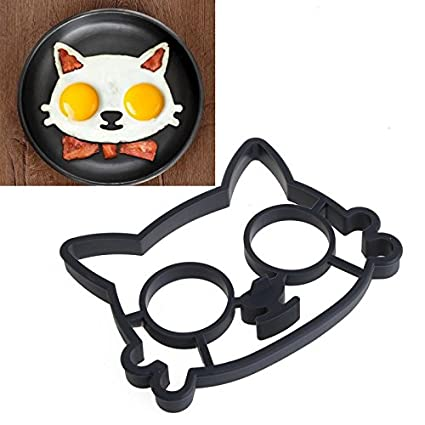 Amazon com: Cat Kitchen - Silicone Cats Shaped Egg Shaper