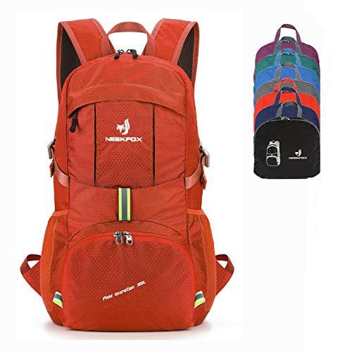 NEEKFOX Packable Lightweight Hiking Daypack 35L Travel Hiking Backpack for Women Men (Best Affordable Hiking Backpacks)
